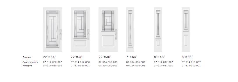Louisbourg Door Styles