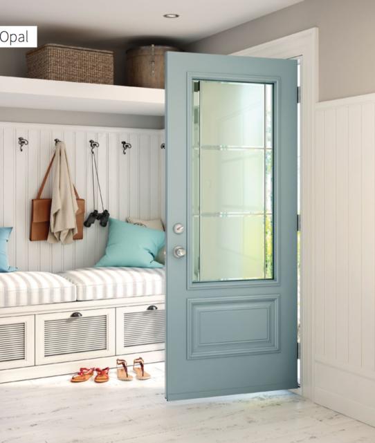 Opal Steel Door